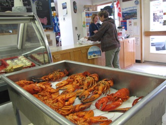 Canada juillet 2009 la suite 3 - Comment couper un homard cuit en deux ...