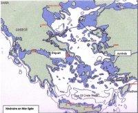 Itinéraire en mer Egée 2004